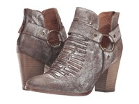 Ariat Unbridled Jaelle Metallic Suede Cowboy Boots Gold