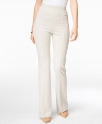 Inc International Concepts High Waist Curvy Fit Bootcut Pants Only At Macy's Toad Beige