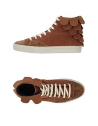 Forfex High Tops And Trainers Brown