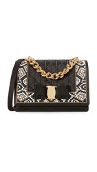 Salvatore Ferragamo Ginny Cross Body Bag Raso Nero
