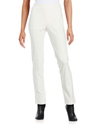 Context Slim Fit Pull On Pants White
