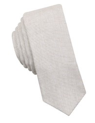 Original Penguin Horizontal Stripe Tie Taupe