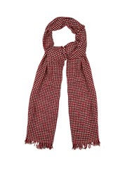 Etoile Isabel Marant Zali Wool And Cashmere Blend Scarf Red White