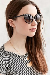 Urban Outfitters Marley Petite Cat Eye Sunglasses Black