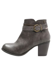 Refresh Ankle Boots Gris Grey