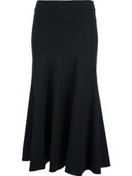 Derek Lam Panelled Midi Skirt Black