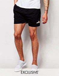 Ellesse Retro Jersey Shorts Anthracite Black