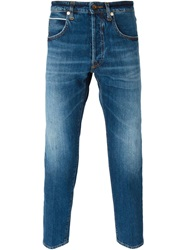 People People 'Riccardo' Slim Fit Jeans Blue