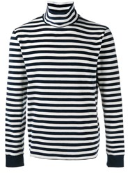 Our Legacy Striped Jumper Blue
