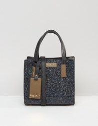 Carvela Glitter Mini Cross Body Bag Black