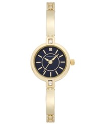 Charter Club Women's Gold Tone Bangle Bracelet Watch 22Mm Only At Macy's