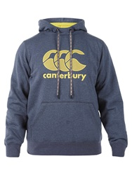 Canterbury Of New Zealand Core Logo Hoodie Grey