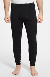 Stanfield's Fitted Base Layer Merino Wool Pants Black
