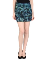 Surface To Air Mini Skirts Deep Jade