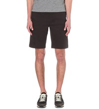 Hugo Boss Slim Fit Cotton Blend Shorts Black