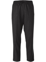 Valentino Cropped Trousers Grey