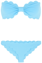 Antibes Scalloped Bandeau Bikini