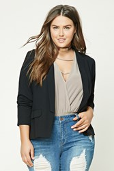 Forever 21 Plus Size Shawl Collar Blazer