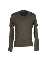 Cnc Costume National C'n'c' Costume National T Shirts Military Green