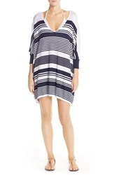 Women's Tommy Bahama Stripe Cover Up Sweater