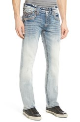 Men's Rock Revival 'Ignacio J2' Straight Leg Jeans Light Blue