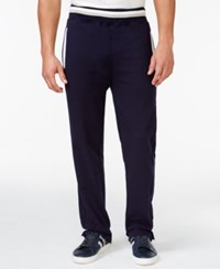 Sean John Big And Tall Taped French Terry Track Pants