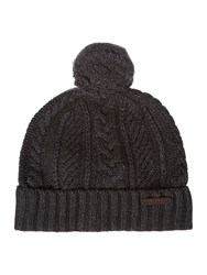 Ted Baker Charlie Cable Beanie Charcoal