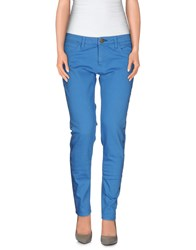 Shine Denim Denim Trousers Women Ocher
