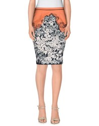Blumarine Skirts Knee Length Skirts Women Salmon Pink
