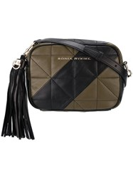 Sonia Rykiel Quilted Camera Bag Green