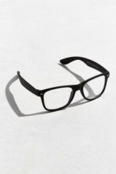 Urban Outfitters Matte Square Readers Black