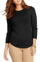 Plus Size Women's Lauren Ralph Lauren Crewneck Sweater Black