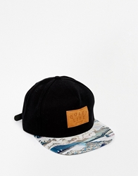 The Quiet Life X Liberty Ocean Snapback Cap Black