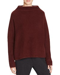 Vince Wide Neck Sweater Cordovan