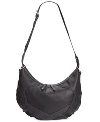 French Connection Fatima Hobo Black