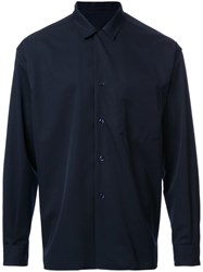 H Beauty And Youth. Blouson Shirt Jacket Blue