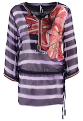 Desigual Estrella Tunic Twilight Blue