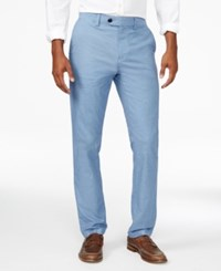 Tommy Hilfiger Men's Clyde Tailored Fit Pants Kings Blue