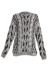 Joseph Rn Cable Knit Sweater