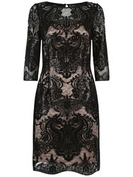 Fenn Wright Manson Petite Galaxy Dress Black
