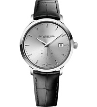 Raymond Weil 5484 Stc 65001 Toccata Stainless Steel And Leather Watch