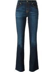7 For All Mankind Bootcut Jeans Blue