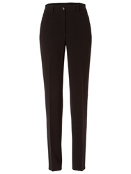 Basler Diana Trousers Made Of Triacetate Black