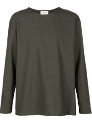 Christophe Lemaire Lemaire Silk Sweater Grey