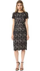 Shoshanna Beaux Lace Dress Jet