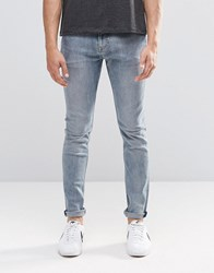 Weekday Form Super Skinny Jeans Bench Blue Bench Blue 75 101