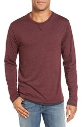 Tailor Vintage Men's Reversible T Shirt Cherry
