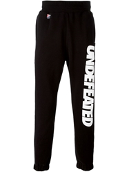 Undefeated Logo Print Sweatpants Black