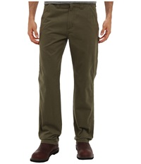 Carhartt Washed Twill Dungaree Army Green Men's Jeans