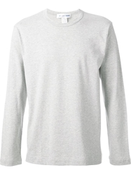 Comme Des Garcons Play Longsleeved T Shirt